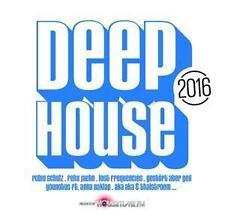 CD Deep House 2016 von Various Artists   2CDs