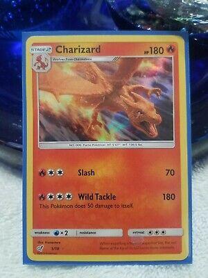 Pokemon Detective Pikachu Charizard Rare Holo 5 18 Free Box Shipping Ebay