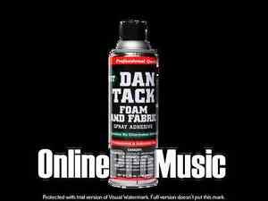 Dan Tack Professional Quality Foam & Fabric Spray Glue/Adhesive Big Can 12.00oz