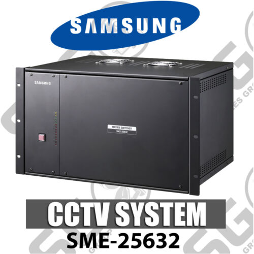 Samsung SME-25632 Matrix Expansion Unit Extension Bay CCTV Switcher 256 Cameras