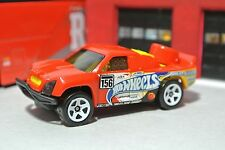 Hot Wheels Off Track - Red - Loose - 1:64 - Race Pickup Truck 4x4