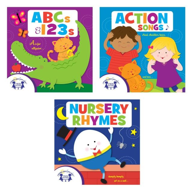 New Abcs 123s Action Songs And Nursery Rhymes Audio Cd 3