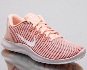 Details zu Nike Damen Flex Rn 2018 Damen Neu Crimson Weiß Rosa Laufschuhe AA7408 800