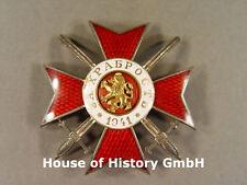 Bulgarien: Militärorden für Tapferkeit 4.Kasse 1.Stufe, 3.Modell Jahreszahl 1941