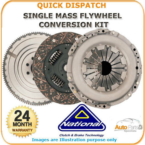 NATIONAL SOLID MASS FLYWHEEL AND CLUTCH  FOR AUDI A3 CK9908F