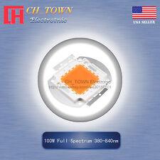 1Pcs 100W Watt High Power Full Spectrum 380-840nm SMD LED Blub Lamp Plant Chip