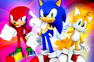 SONIC THE HEDGEHOG A4 260GSM POSTER PRINT