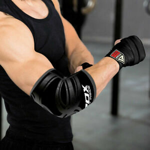 RDX-Adjustable-Elbow-Support-Brace-Sleeves-Guard-Arm-Pad-MMA-Bandage-Wrap-Gym