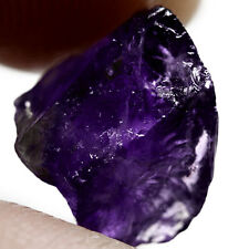 NATURAL EXCELLENT RICH PURPLE AMETHYST  (13.2 x 11.7 mm) FREEFORM ROUGH