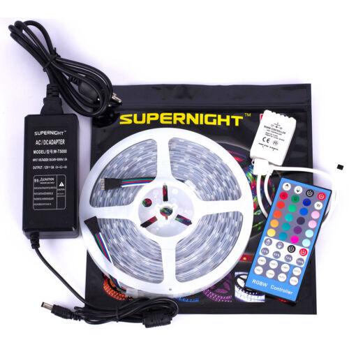 40Keys Controller SUPERNIGHT® RGBW 5M 300Leds 5050 LED Strip Light 12V Power