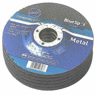 """3 x 115mm 4 1//2/"""" Metal Grinding Disc Depressed Centre Angle Grinder 224514"""