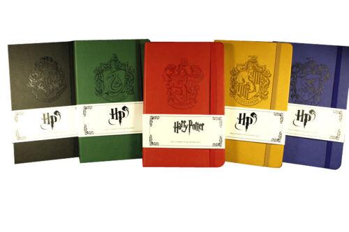 Harry Potter Rare Licensed Exhibition Premium Notebook Hogwarts Embossed Logo