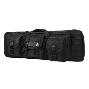 New-NCStar-Tactical-42-034-Double-Carbine-Gun-Carry-Case-Bag-Black