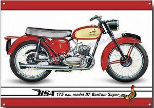 vintage bsa motorcycles