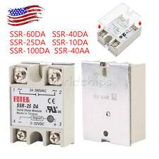 Fotek Solid State Relay Module Dc Input 25a40a50a Ssr 25da40da50da Control