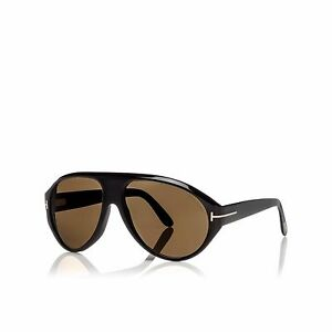37ee7b38f797c Authentic Tom Ford Tom N.8 63E Private Collection Black Horn ...