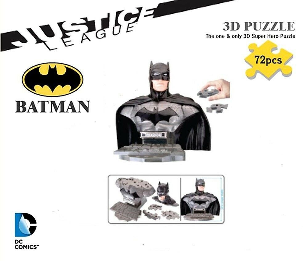 Happy Well 3D Puzzle - the New 52 Justice League - Batman - Dc - Nip