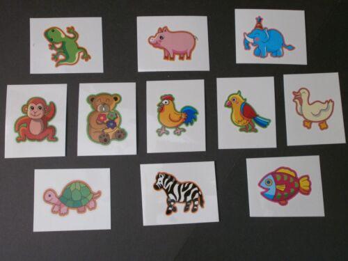 Fun Animal Tattoos x 50**Party Bag Fillers**