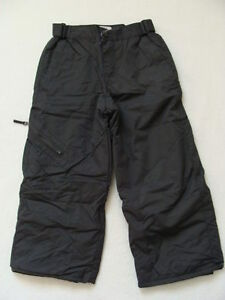 5921d1af2695 NWT Boys Snow Pants Ski Snowboard Size 4 Water Resistant TCP Gray ...