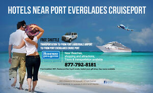 fort lauderdale hotels near cruise port with free shuttle