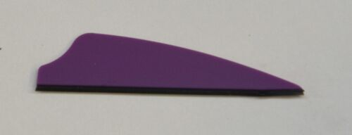 """2.1/"""" Fusion-X Vanes For Cross Bows and Compond Bows //Purple 50ct"""