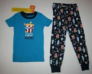 NEW Gymboree Boys Holiday Pajamas Gymmies PJs 3 4 5 7 8 yr Snowman Globe 2 Piece