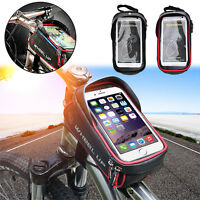 WHEEL UP MTB Bike Bicycle Cycling Frame Front Tube Pannier Pouch Phone Bag Case