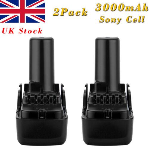 Battery For Hitachi BCL1015 BCL1030 BCL1030A 329369 329370 10.8V 3000mAh Li-ion