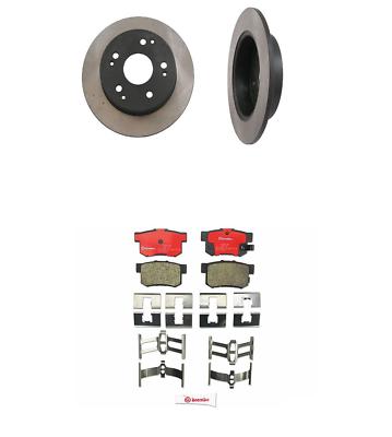 For Honda Accord 3.0 V6 Set Of 2 Front /& Rear Set of 4 Disc Brake Rotors Brembo