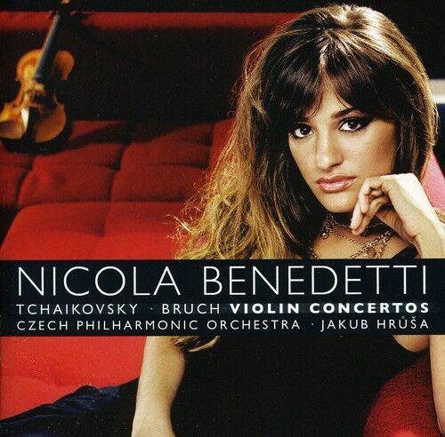 1 of 1 - Nicola Benedetti - Violin Concertos [New CD]