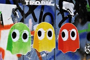 Details About Cool Graffiti Street Art Canvas 73 Contemporary Abstract Pop Art Wall Hanging