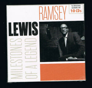 RAMSEY-LEWIS-MILESTONES-OF-A-LEGEND-COFFRET-10-CDs-NEUF-NEW-NEU