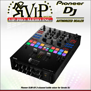 pioneer dj djm s9 2 channel battle mixer for serato dj authorized dealer new ebay. Black Bedroom Furniture Sets. Home Design Ideas