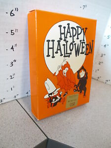 candy box 1980 RUSSELL STOVER halloween costume kid devil black cat cowboy