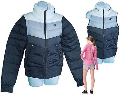 Nouveau Nike Sportswear Nsw Femme Corps chauffe Veste gilet noir S | eBay