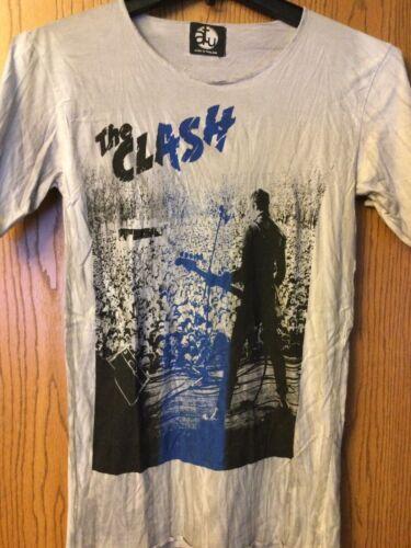 The Clash - Gray Shirt.   ATU