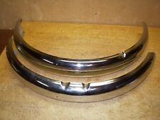 "SALE! Chromed Schwinn Cruiser 26"" Bicycle Wide Fender Set & Braces Whizzer &"