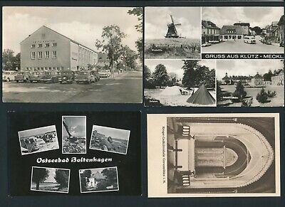 32461) 4 Ak Grevesmühlen, Klütz + Boltenhagen, Etwas Unterschiedlich...