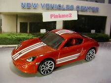 2017 Hot Wheels PORSCHE CAYMAN S☆burnt Red; 10sp☆Multi-Pack Exclusive?☆LOOSE
