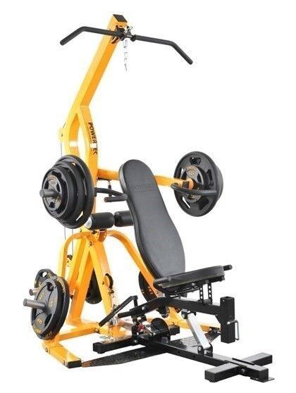 Andet, Powertec Workbench Levergym Yellow