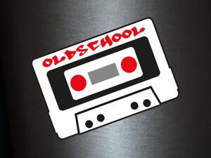 Details Zu 1 X Aufkleber Oldschool Kassette Dj Graffiti 90es 80s Sticker Tuning Shocker Fun