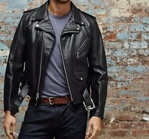 90b9096428a Schott Nyc PERFECTO Men s Rider 618 Steerhide Leather Motorcycle ...