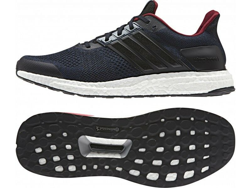 Men's Adidas Ultra Boost ST Running Shoes Core Black BB3931 Comfortable
