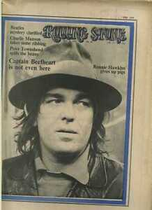 Rolling Stone Magazine Issue 58 Captain Beefheart Charles