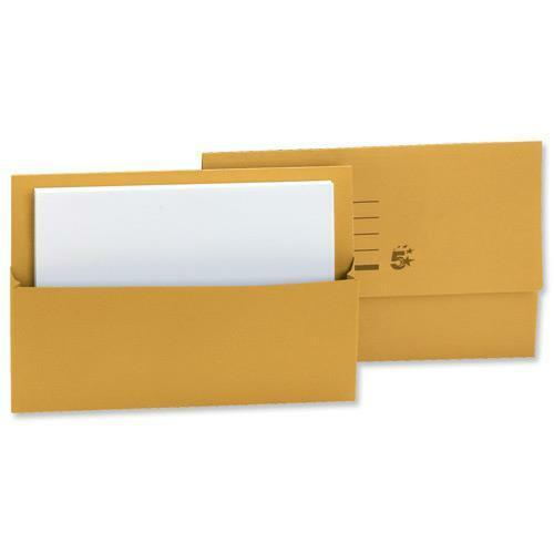 A4/ FOOLSCAP CARDBOARD ENVELOPE FILING DOCUMENT WALLET FOLDERS