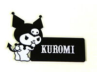 X1 Jdm Kuromi Devil Hello Kitty Emblem Japan Rare Jdm