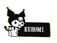 X1 Jdm Kuromi Devil Hello Kitty Emblem Japan Rare Jdm