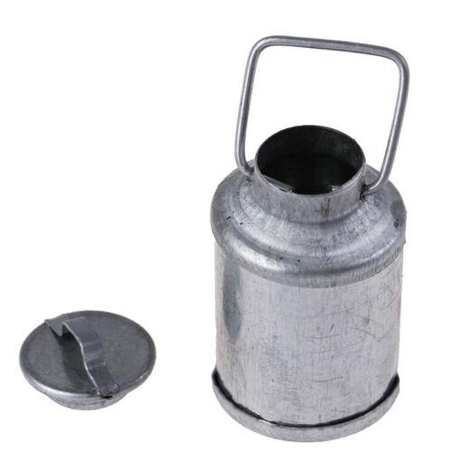 1:12 casa muñeca miniatura Accesorios Granja metal leche pueden Hervidor Olla Mc