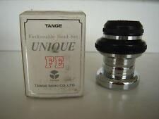 TANGE UQ-E7 UNIQUE FE BLACK AND CHROOM HEADSET - NOS - NIB