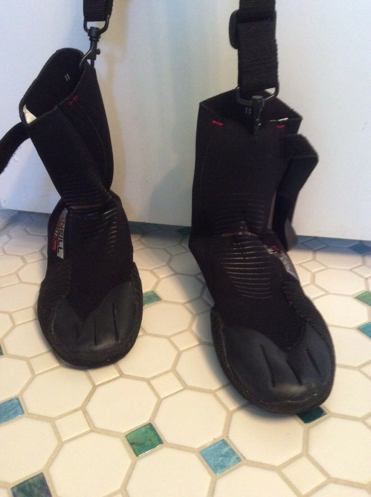 Wetsuit boots, O'Neill Heat Torsion, Size  11, Style 3368  choices with low price